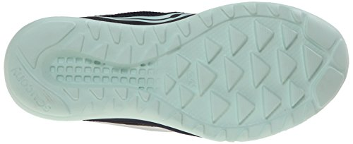 Saucony Womens Kineta Relay Road Running Shoe, Coral/Mint, 10 M US Navy/Dots