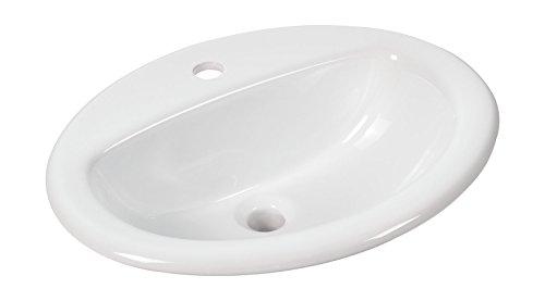 AquaSu 57208 8 Einbau- Waschtisch aVondo 51,6 cm, weiß,