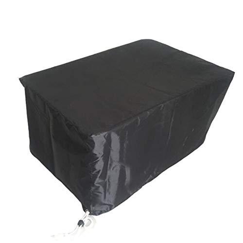 Zelte Outdoor Garten-Möbel Bedecken Wasserdichte Plane-Patio-Tabelle und Stuhl Staub-Beweis mechanische Ausrüstungs-Rost-Verhinderung, 210D (Farbe : SCHWARZ, größe : 170x94x70cm)