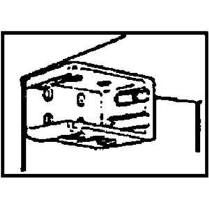 NEWELL RUBBERMAID LMINIBRACKETD Blind Bracket Pair, Mini by NEWELL RUBBERMAID
