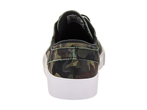 Nike Skateboarding  Zoom Stefan Janoski Premium Ht,  Herren Durchgängies Plateau Sandalen mit Keilabsatz White/Black/White/Multi/Color