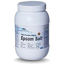Sal de Epsom (Sulfato de magnesio) Sal de baño