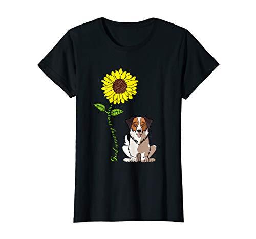 Australian Shepherd Dog T-shirt (Damen Guten Morgen Sunshine Australian Shepherd Aussie Dog T-Shirt)
