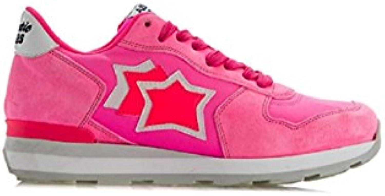 Atlantic Stars Scarpe scarpe da ginnastica Vega in Tessuto E CAMOSCIO rosa | Elegante Nello Stile  | Sig/Sig Ra Scarpa