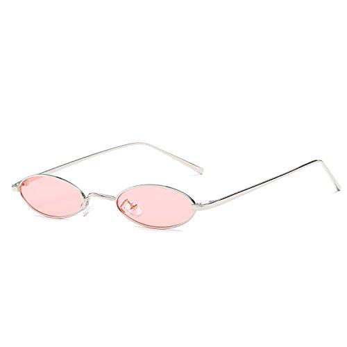 f127ecec9e5dbf Kleine Ovale Katzenauge Sonnenbrille Retro Metall Rahmen Brillen Herren  Damen