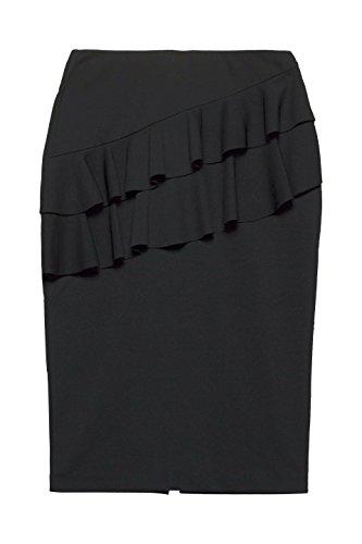 ESPRIT Collection Damen Rock Schwarz (Black 001)