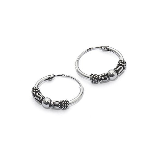 river-island-jewelry-bali-creolen-sterling-silber-endless-bali-creolen-14-mm