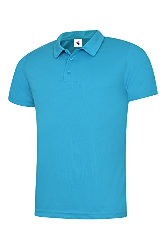 Uneek 140 gsm - Herren Ultra Cool Polo Marineblau