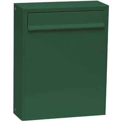 Max Knobloch Zaunbriefkasten Fargo I moosgrün (RAL 6005) 8 Liter Briefkasten