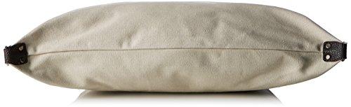 Bags4Less Damen F3151 Umhängetasche, 20x40x50 cm Beige (Beige Weiss)