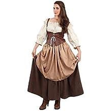 DISBACANAL Traje Medieval para Mujer - Único, ...