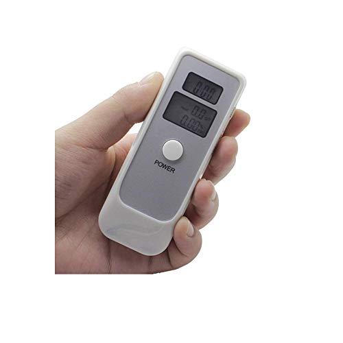 DWLXSH Alcoholímetro portátil, la respiración del Alcohol probador con Pantalla LCD Digital y Sensor...