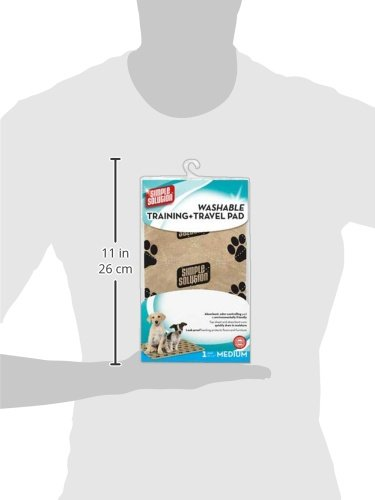 Simple Solution Washable Travel and Training Pad for Small/ Medium Dogs 4