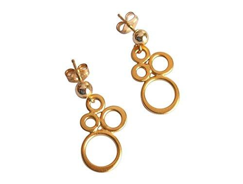 gemshine-handmade-ohrringe-ohrhanger-champagner-schaum-925-silber-vergoldet