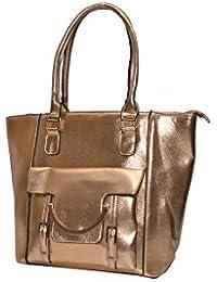 Senora Handbag For Women (Colour-Gold)