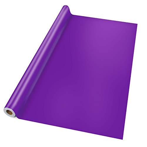 chdecke Violett | abwaschbar | ideale Größe wählbar, Meterware (200x140cm) ()