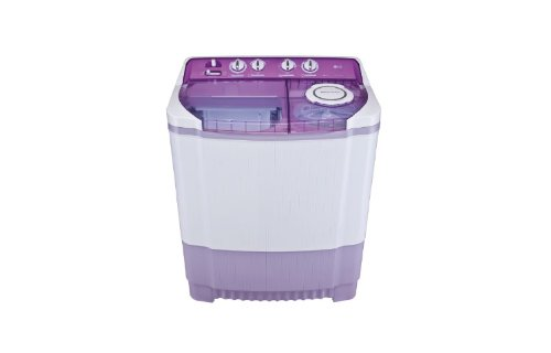 LG P8237R3S Semi-automatic Washing Machine (7.2 Kg, Mauve)