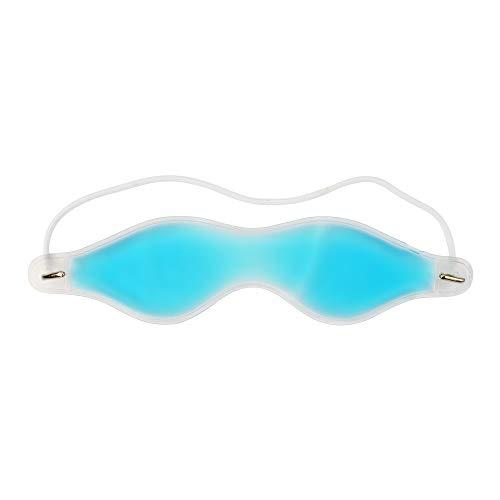 Mascarilla de ojos rellena de gel, reutilizable y relajante para la cabeza por The JetRest®