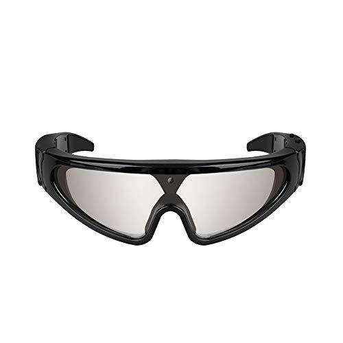 Preisvergleich Produktbild Polarisierte Sportbrille Sonnenbrille Fahrradbrill Videoaufnahmekamera-Sonnenbrille HD 720P polarisierte UV400 Gläser DVR-Eyewear-Kamerarecorder Polarisierte Linse Großer im Freiensport-Aktions-Video