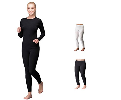 TF Thermoform - Bas spécial sport - Uni - Femme noir noir/blanc Small Schwarz