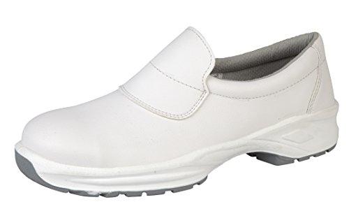Del Himalaya 9950–6.0microfibra doble densidad zapatos de seguridad, tamaño 6, color blanco