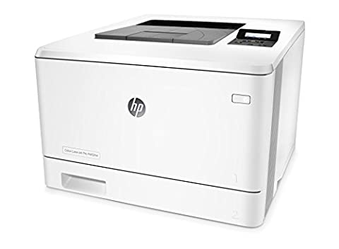 HP Color LaserJet Pro M452nw Farblaserdrucker (A4, Drucker, WLAN, LAN, HP ePrint, Airprint, USB, 600 x 600 dpi)
