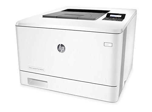 HP Color Laser Jet Pro M452nw - Impresora multifunción láser (1.200 MHz, 256 MB, LCD 2 líneas, 802.11b/g/n, hasta 27 ppm), color blanco