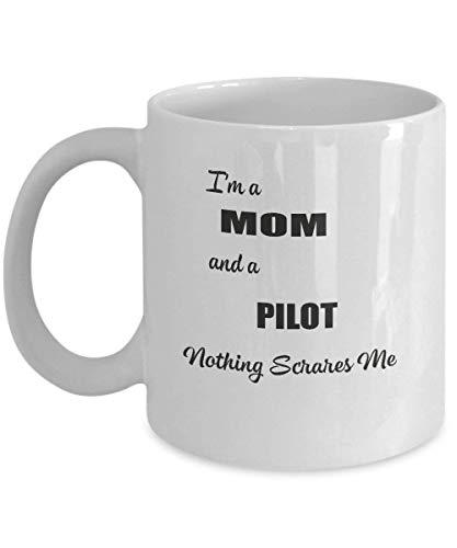 Lustige Tassen, Pilot, Kaffeetassen, 11oz weiße Tassen 16 Oz Sip-top