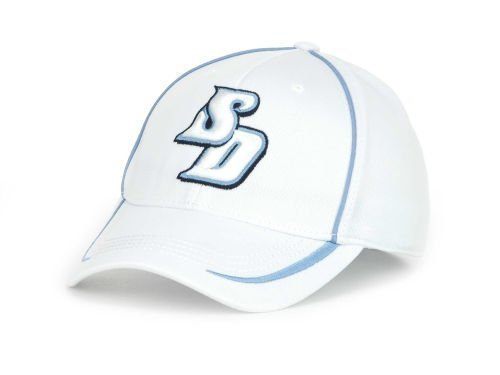 san-diego-toreros-mens-hat-cap-top-of-the-world-flexfit-white-m-l-by-top-of-the-world