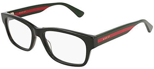 Gucci Brillen GG0343O BLACK GREEN RED Herrenbrillen