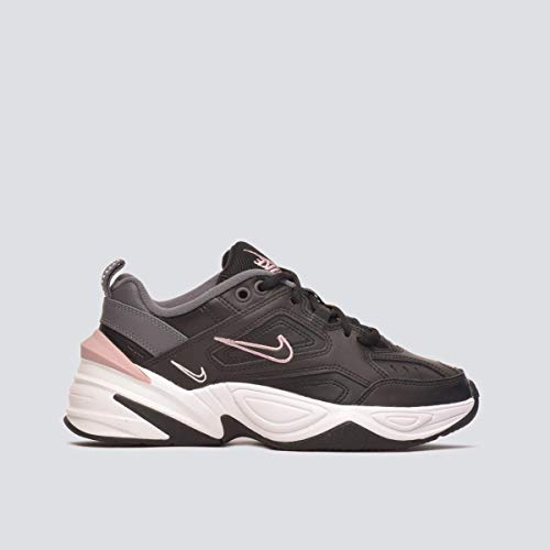 Nike W M2K TEKNO, Zapatillas de Atletismo para Mujer, Black/University Gold/White 000, 42.5 EU