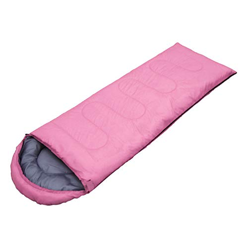 WeAreAwesome Sommer-Schlafsack Festival-Schlafsack Camping-Schlafsack Farbe Rosa
