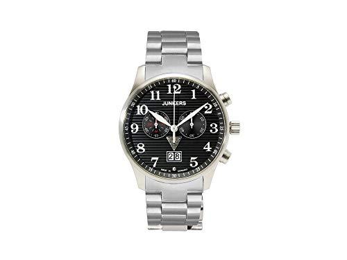 Junkers Montre pour Homme Quartz Chronographe Acier Inoxydable 6686M2
