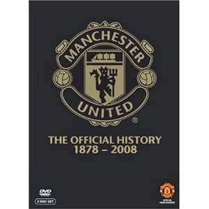 Manchester United - The Official History 1878 - 2008: 2 DVD Set