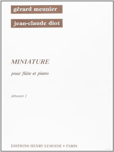 Miniature pour Flûte et Piano