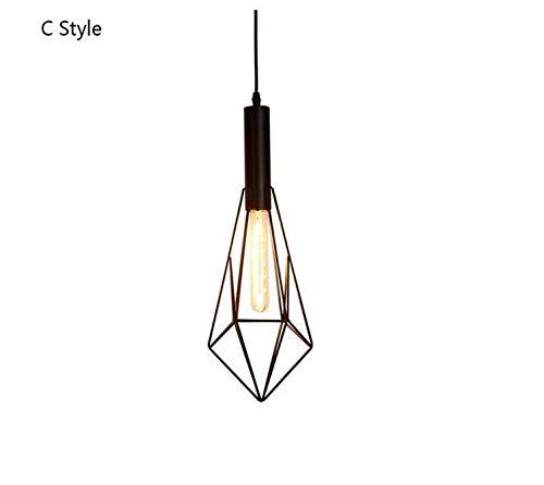 Araña Lightceiling Colgante Luz Creatividad moderna Hierro forjado ...