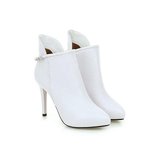 BalaMasa - Stivali Chelsea donna White