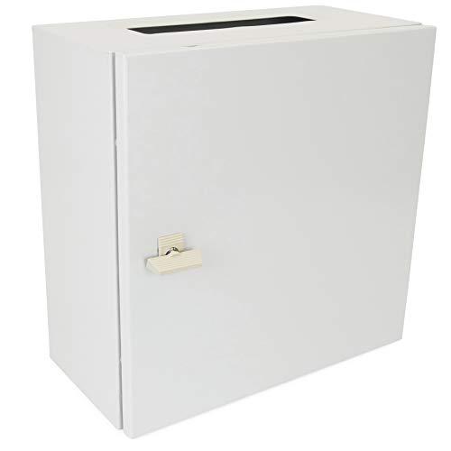Cablematic-Caja de distribución eléctrica de Metal IP65para Montaje Pared 300x 300x 200mm