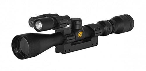 Visor Gamo. Mira telescópica 3-9x40 con zoom. Incluye linterna y laser. Especial para tiro deportivo
