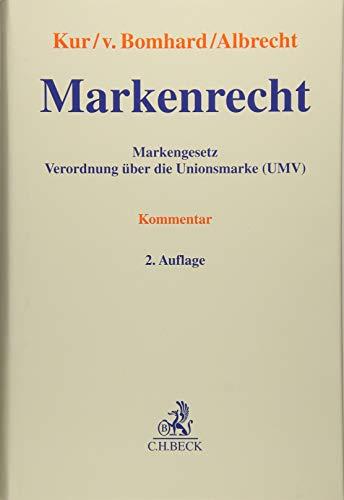 Markenrecht: Markengesetz, Verordnung über die Unionsmarke (UMV)