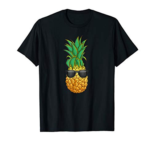 Ananas mit Sonnenbrille Aloha Beaches Hawaii T-Shirt
