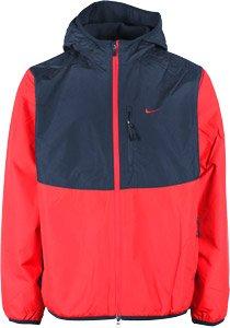 Nike Flece Lined Jacket Giubbino Termico Uomo Rosso Blu (M)