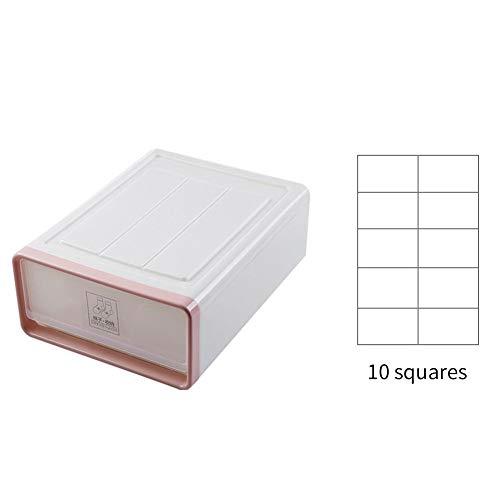 Soft Fabric Dresser Drawer Und Closet Storage Organizer Set Für Kinder- / Babyzimmer, Kinderzimmer, Spielzimmer, Schlafzimmer - Rechteckige Organizer Bins