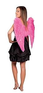 Boland 52806 alas de ángel, alrededor de 65 x 65 cm, un tamaño, rosa