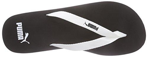 Puma Sun Flip Unisex-Erwachsene Zehentrenner Schwarz (black-white 03)