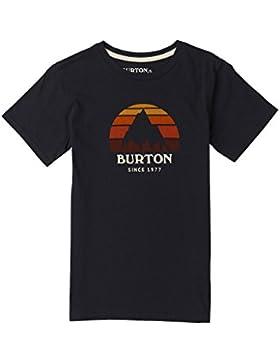 Burton unde rhill Corta para Camiseta de, niño, Underhill Shortsleeve, True Black, Small