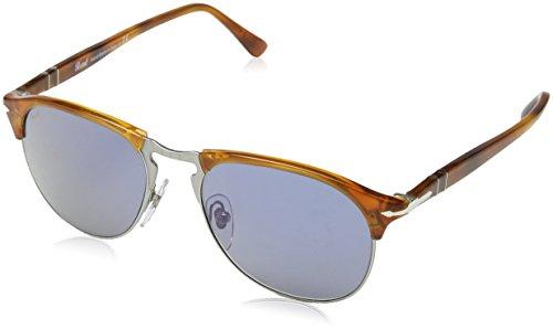 persol-0po8649s-occhiali-da-sole-unisex-adulto-mehrfarbig-gestell-terra-di-siena-glaser-blau-96-56-l