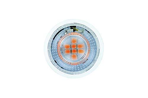 Integral ILGU10NH106 LED-Leuchtmittel, 5 W, GU10, nicht dimmbar, Rot Integral Led