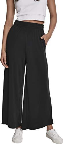 Urban Classics Damen Ladies Modal Culotte Hose, Schwarz (Black 00007), L