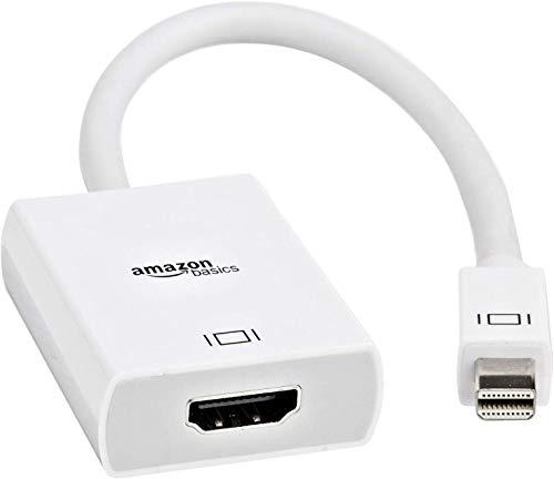 AmazonBasics - Adaptador Mini DisplayPort HDMI, color